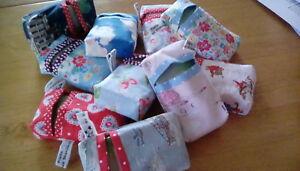 Handmade pocket tissue case / cover / holder using Cath Kidston fabrics