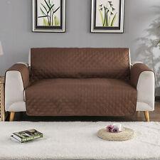 UK Sofa Slip Cover Reversible Quilted Furniture Pet Protector Throw UK