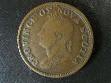 NS-4A2 One Penny token 1832 Canada Nova Scotia PNS-453 Breton 870