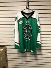 Matt Hamilton Victoria Shamrocks Game Worn Used Jersey WLA Lacrosse Great Logo