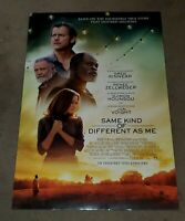 Same Kind Of Different As Me 2017 Renee Zellweger DS 27x40 Movie Poster DAMAGED