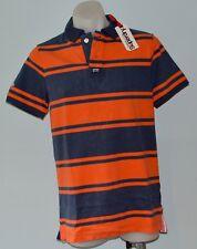 Superdry Mens Polo T - Shirt - BLUE & GREY - SIZES - S, M, L & XXL - NEW