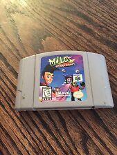 Milo's Astro Lanes (Nintendo 64, 1998) N64 Game Cart NE5