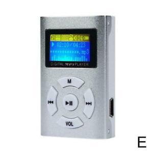 Card mp3 Book Student Mini Music Player Gift Sports NEW Speaker Walkman.