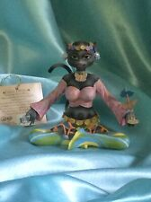"""Alley Cats Figurine by Margaret Le Van ~ Go Go """"Old Soul�"""