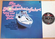WILLI & WALTER KOLLO - Die große Mondscheinfahrt  (HANSA 1977 / LP NEUWERTIG)