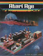 Atari Age Magazine Vol. 1 # 2 - retro gaming, 2600, arcade