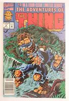 MARVEL | THE ADVENTURES OF THE THING | NR 4 OF 4 (1992) | MAN-THING | Z 1 VF