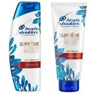 Head & Shoulders Supreme Colour Protect Anti-Dandruff Shampoo & Conditioner Hair
