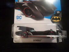 HW HOT WHEELS 2017 HW BATMAN #5/5 BATMAN BATMOBILE BLACK HOTWHEELS HTF DC COMICS