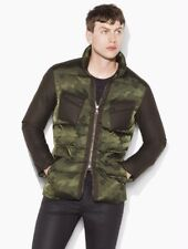 John Varvatos Collection Camo Down Jacket Size EU 50 USA 40 BNWT
