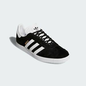 Adidas Originals Men Gazelle Core Black/White/Gold Metallic BB5476