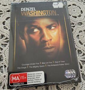 DENZEL WASHINGTON - 6 Movie Set - 6 DVD - New Sealed
