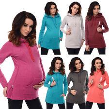 Purpless Maternity 2in1 Nursing Hoodie Pregnancy Sweatshirt Breastfeeding B9050