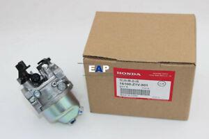 Genuine Honda GXV160 BE66N HR214 HR215 HR216 Carburetor Parts No.16100-Z1V-801