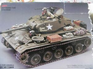 DD092  King and Country M24 Chaffee Tank