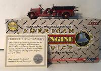 2006 Corgi 1936 REO Speedwagon Fire Truck-  Frederica Fire Department US53102