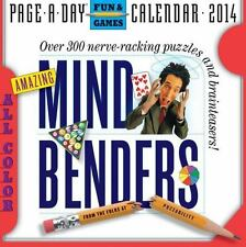 Amazing Mind Benders 2014 Calendar by Page-a-Day