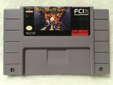 Might and Magic III Isles of Terra *Authentic* Super Nintendo SNES Game!