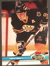 Cam Neely 1991-1992 Topps Stadium Club Hockey Card #64 Boston Bruins