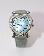 "W219-Ladies Corum "" Heart Beat"" Watch 30mm Diamond Bezel 24.183.47"