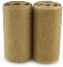"""Velcro® Brand 4"""" Beige Hook and Loop Set - SEW-ON TYPE - 12 INCHES - UNCUT"""