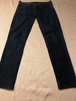 J. Crew Women's Jeans Toothpick Stretch Blue Skinny Ankle Jr. Size 24 X 28