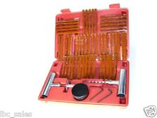Tire Repair Kit Flat Tire Repair Car Truck Motorcycle Home Plug Patch 55 pc set