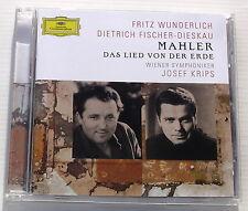 MAHLER . DAS LIED VON DER ERDE . WUNDERLICH . FISCHER-DIESKAU . KRIPS . CD