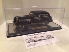Mercedes Benz 770 Grosser Mercedes Pullman limosine zwart 1938 1/43 DMC