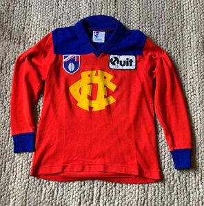 VFL AFL Fitzroy Lions football jumper 1995 Sekem Player Signed.