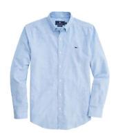 NWT Men's Vineyard Vines Oxford Whale Shirt sz M Blue Medium New Classic Fit Med