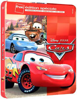 Bluray Cars Disney Pixar Steelbook Édition Limitée Exclusive Fnac France