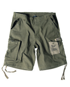 US Army M65 Shorts Oliv Prewashed Paratrooper Gr 3XL - 58 Camo Shorts Pants