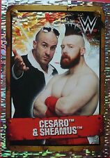 160 Cesaro & Sheamus (large shiny) Topps WWE Ultimate Collection sticker