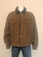 Harley Davidson Cotton Wax Oil Finish Trucker Style Jacket with Sherpa Lining