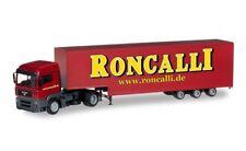 """#304658 - Herpa MAN TGA LX Jumbokoffer-Sattelzug """"Roncalli"""" - 1:87"""