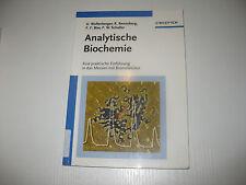 Analytische Biochemie von Wollenberger / Renneberg / Bier / Scheller (2003)