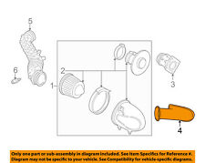 FORD OEM 96-04 Mustang 4.6L Air Cleaner Intake-Inlet Duct Hose Tube F6ZZ9C675AA