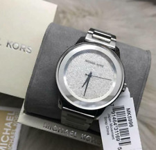 Michael Kors Kinley Silver-tone Pave Watch MK5996