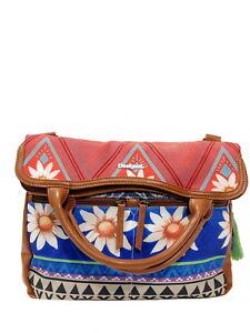 Schicke Desigual Handtasche Henkeltasche Bols Cordoba Happy Bazar Schultertasche