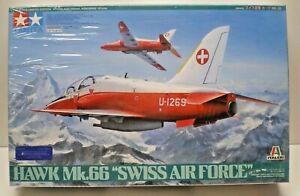 "Tamiya 1:48 scale Hawk Mk.66 ""Swiss Air Force"" kit # 89784 Limited Edition"