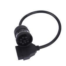 Heavy Duty Truck Diagnostic Cable 9Pin To OBD2 16Pin J1939 Truck Detection Cable