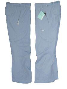 NEW NIKE Womens Ladies HAZELNUT CARGO SNOWBOARD SKI SNOW Trousers Pants Blue XL