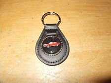 1965 1966 FORD MUSTANG GT FASTBACK RED CAR LOGO KEYCHAIN KEYRING NEW BLACK NICE!