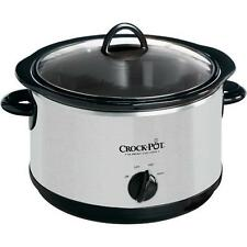 Crock-Pot SCR500-SP 5 Quart Manual Oval Slow Cooker