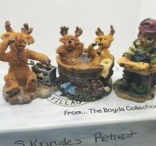 Vintage Boyds Bearly Built Kringle's Village Accessory 2000 Reindeer Elf B10