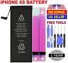 Battery For iPhone 6s internal replacement (1715mAh) Free Adhesive Tape & tools