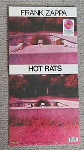 FRANK ZAPPA-HOT RATS-180G HOT PINK 50th ANNIVERSARY ISSUE LP-BRAND NEW & SEALED