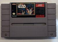 Super Star Wars (Super Nintendo Entertainment System, 1992) SNES Authentic!!